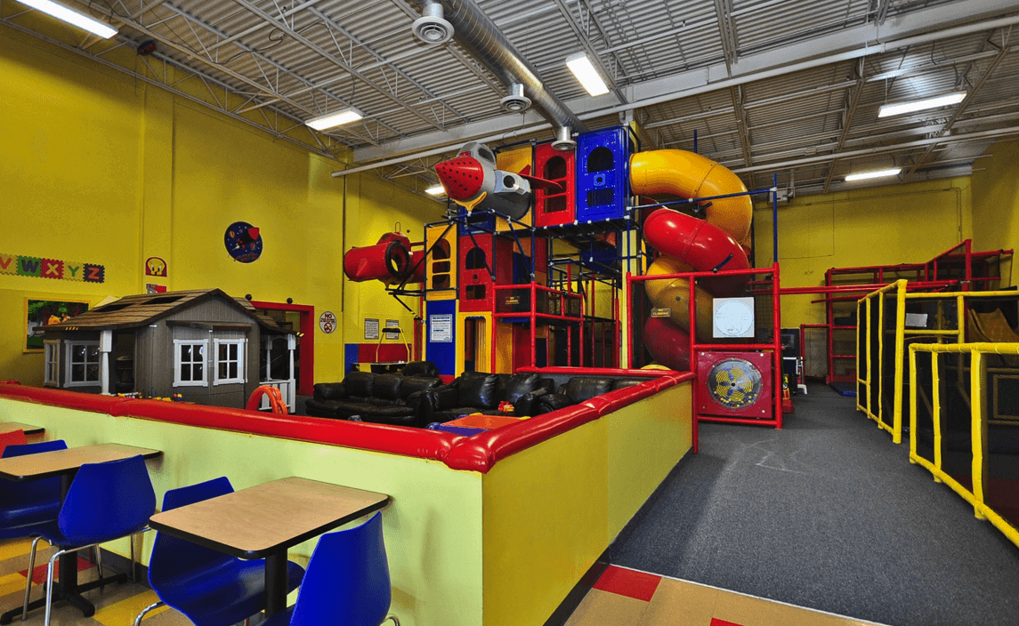 The Toddler Play Area is designed for our youngest customers to enjoy!  Separate from the main play structures, the soft padded Toddler Play Area  is perfect ...